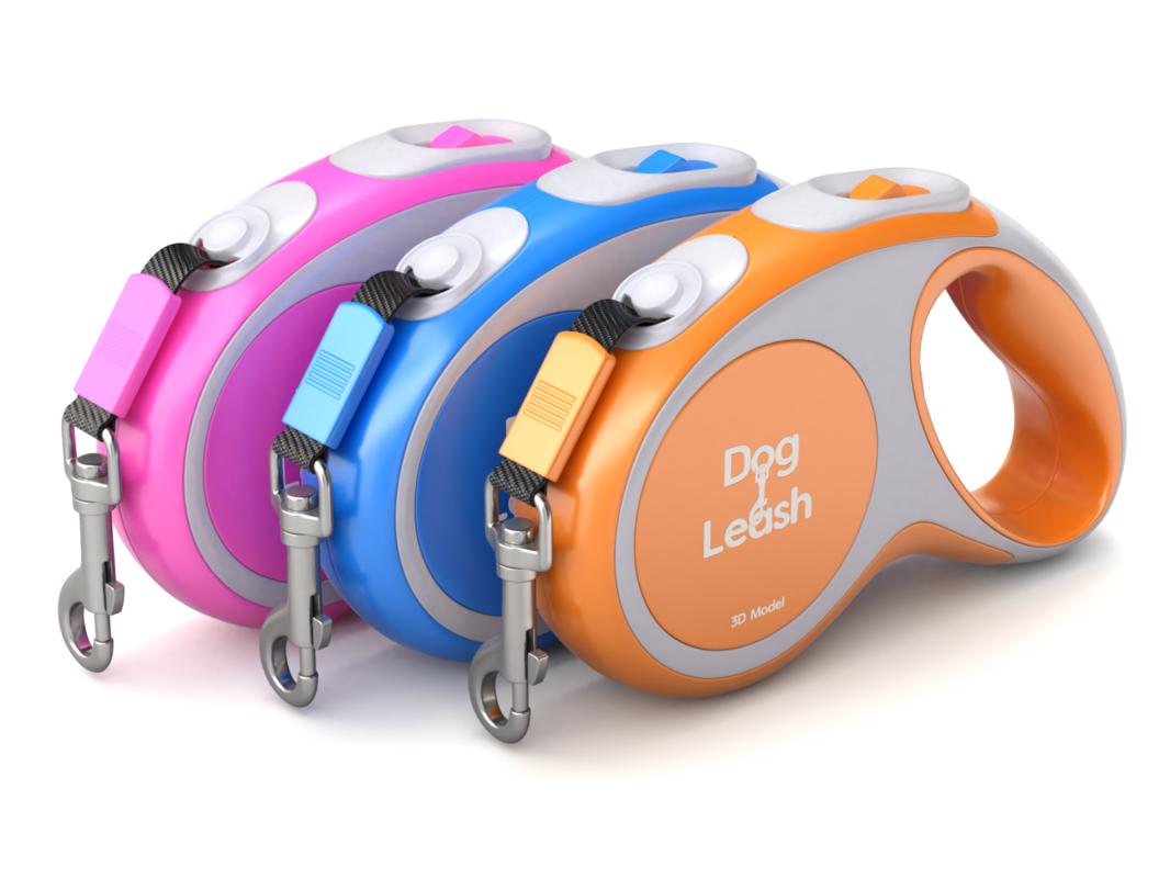 dog leash 3D