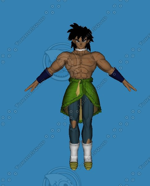 broly movie dbs 3D