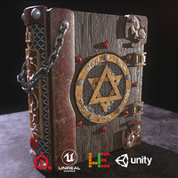 ue4 unity metallic 3D model
