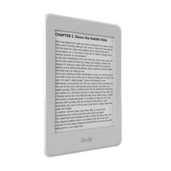 3D amazon kindle paperwhite wi
