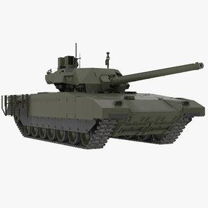 t-14 armata green clean 3D