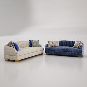 rosa sofa 3D model