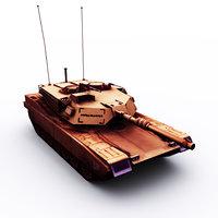 m1 abrahms model