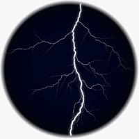 Realistic 3D Lightning CG-02