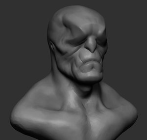 creature head reference 3D