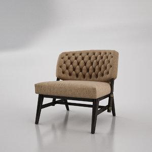 casa pinto armchair 3D