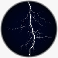 Realistic 3D Lightning CG-03