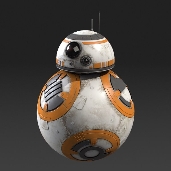 bb-8 star wars 3D model