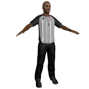 basketball referee model