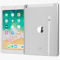 3D model realistic apple ipad 9