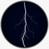 Realistic 3D Lightning CG-06