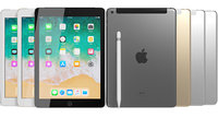 Apple iPad 9.7 2018+Wifi/Cellular & Pencil All Colors