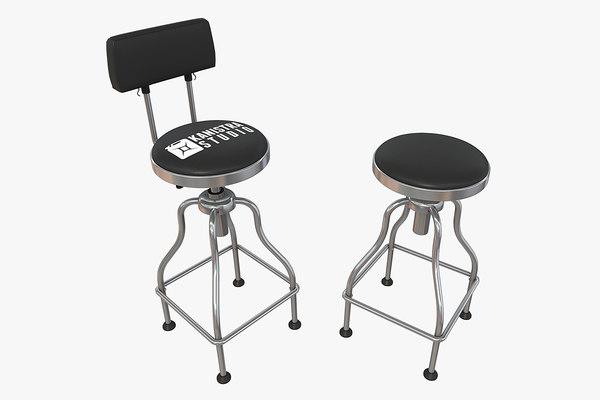 garage bar stool model