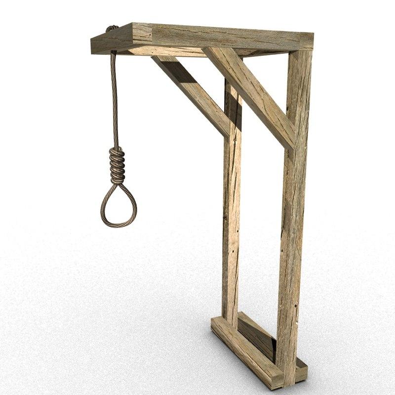 hanging gallow 3D
