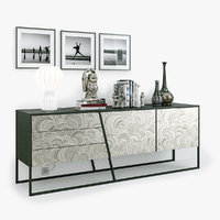 sideboards scenes 3D model