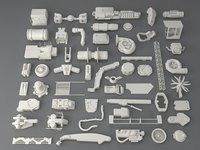 Kit bash(52 pieces) - collection-2