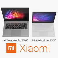 3D realistic xiaomi mi notebook model