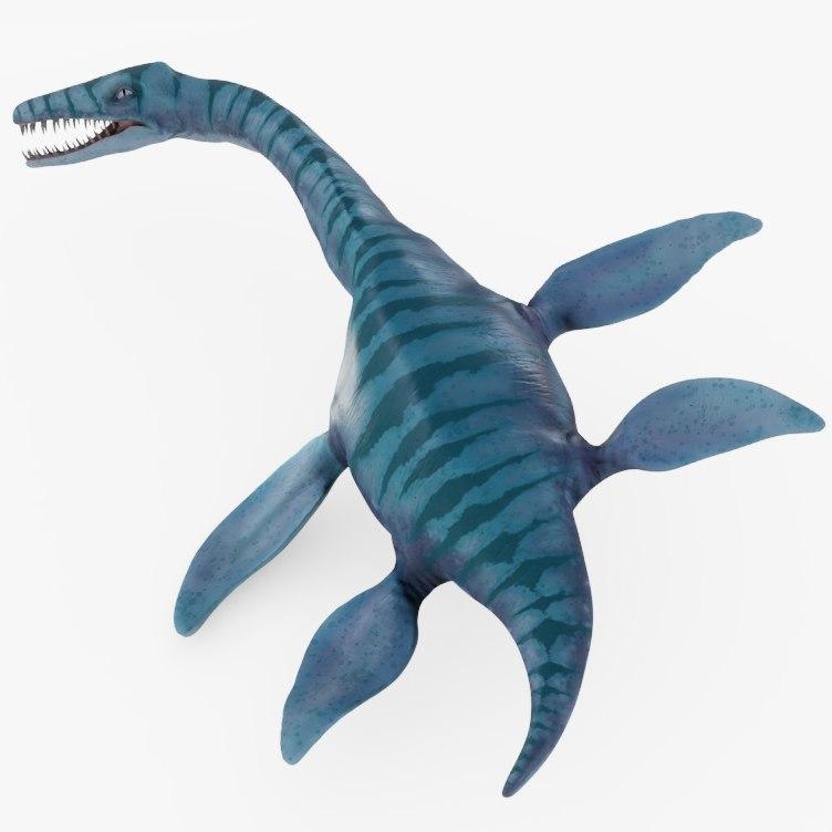 dinosaurs rigged model