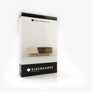 3D model sideboards architecture