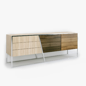 sideboards architecture 3D model