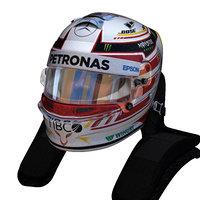 Hamilton helmet 2018
