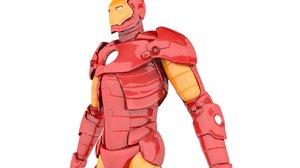 3D model iron man