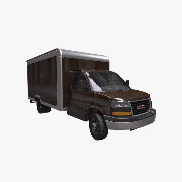 3D gmc savana 2018 box