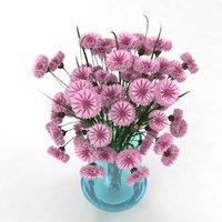 cornflower pink 3D model