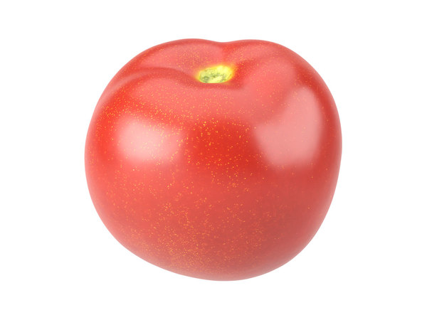 3D photorealistic scanned tomato
