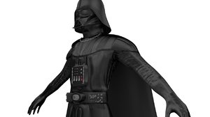 darth vader 3D model