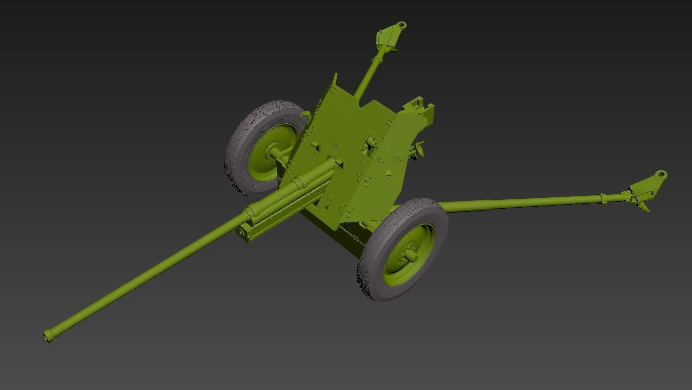3D m-42 cannon