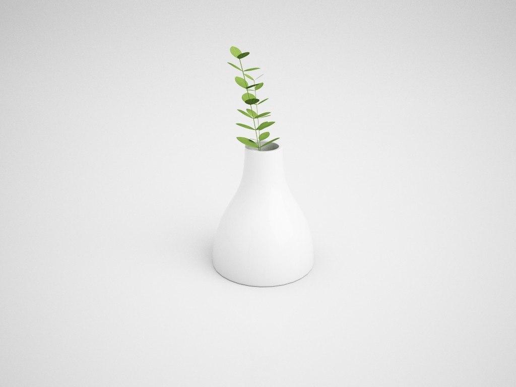 osotto vase 3D model