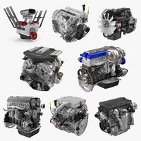 car engines 2 3D