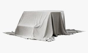 3D piano cloth