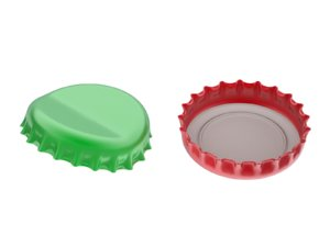 3D bottle cap
