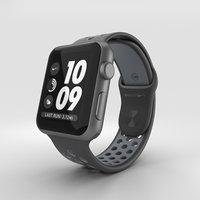 3D apple watch aluminum model