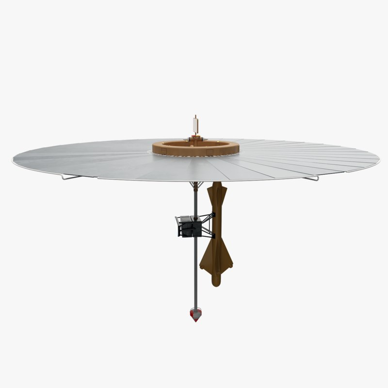 3D model nuclear umbrella ship