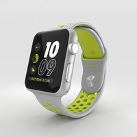 apple watch aluminum 3D