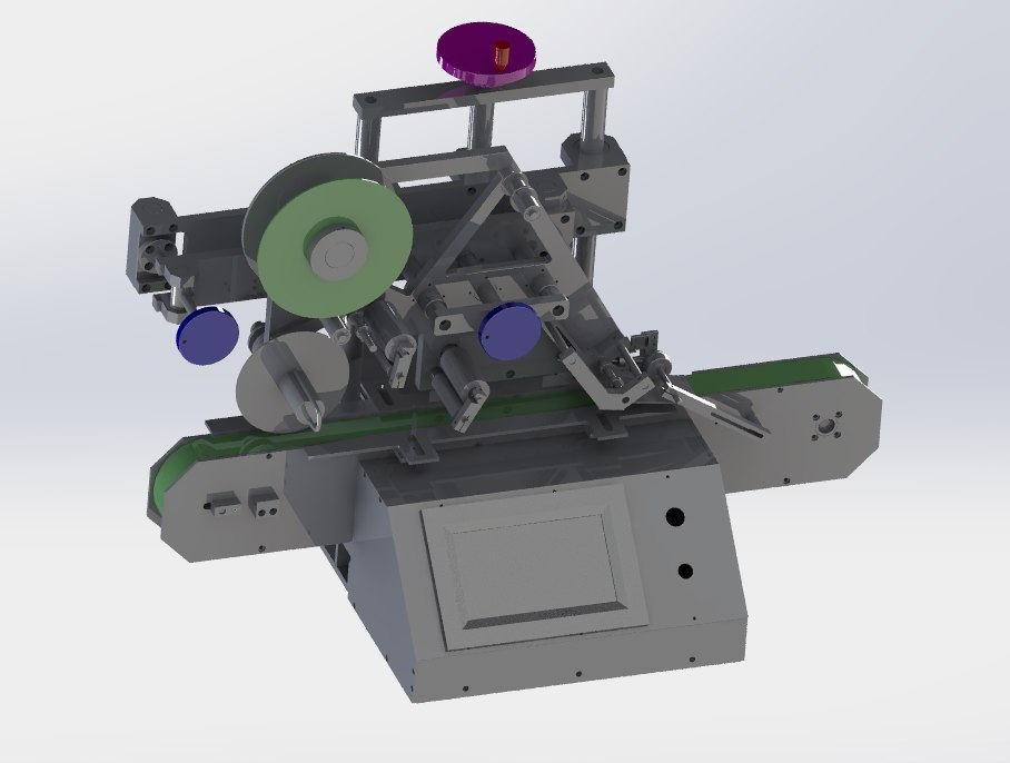 3D table type labeling machine