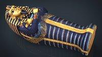 egyptian sarcophagus 3D model