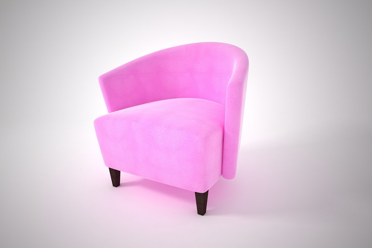 3D furnishings furniture chair