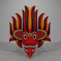 3D masks devil