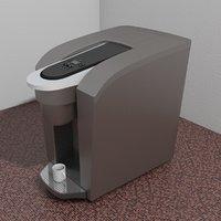coffee espresso machine 3D model