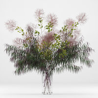 3D realistic prunus branches