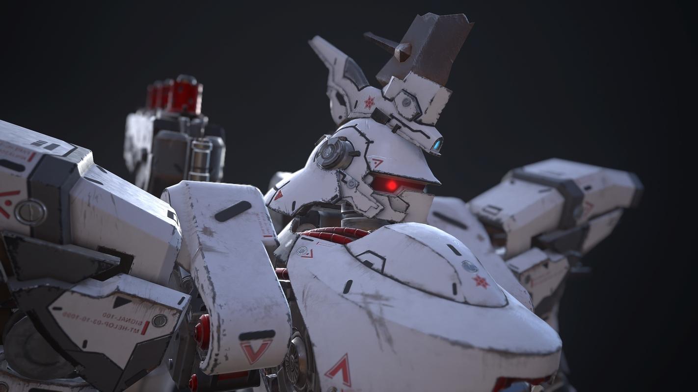 assault mech 3D model
