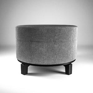 footstool 3D model