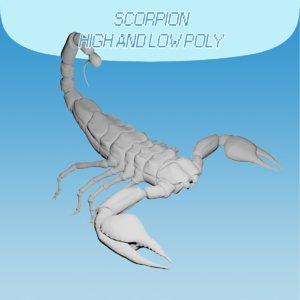 scorpion polys 3D