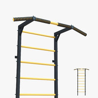 3D horizontal bar model