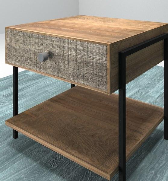 3D design nightstand