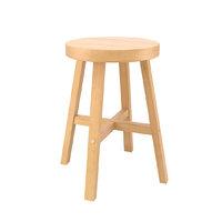 3D model wood stool